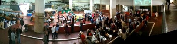 Manifestazione contro la delibera dei mercati rionali a San Giovanni